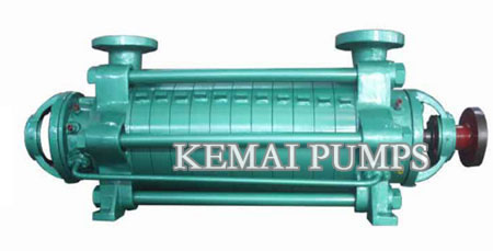 Multistage pumps for boiler feed
