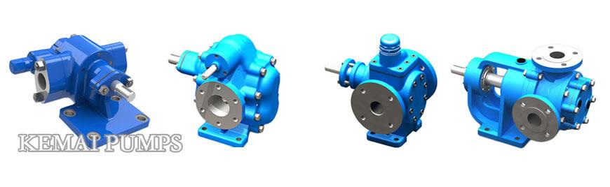 gear pumps types