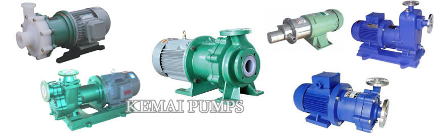 magnetic drive pumps types