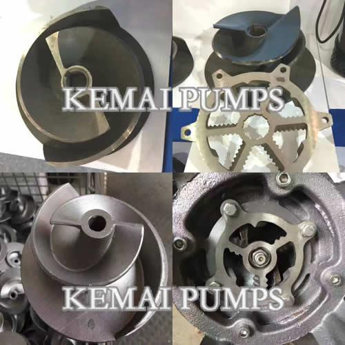 submersible pump impeller type