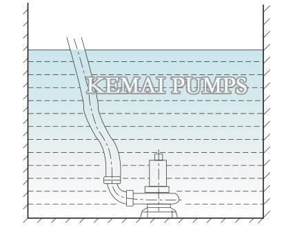 submersible pump installation 2