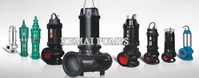 submersible pump types