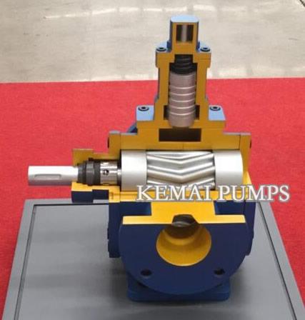 A series Arc Gear Pump