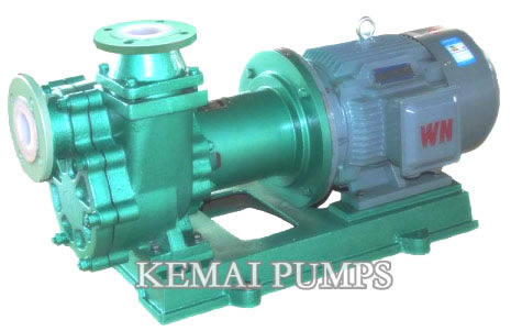 CFS Fluoroplastic self-priming magnetic pump