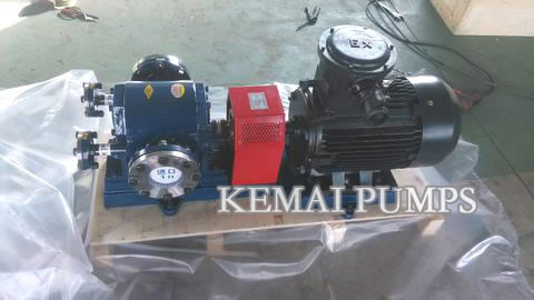 GA external gear type asphalt pumps