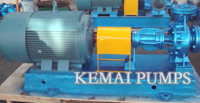 Thermal oil pumps for hot oil circulation pump