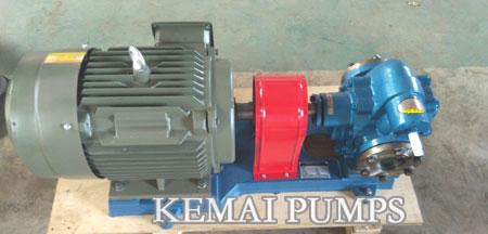 gear type lube transfer pump