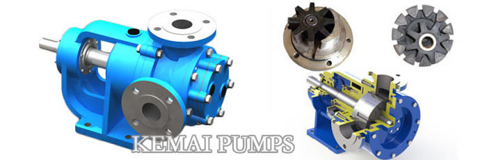 internal gear type asphalt pumps
