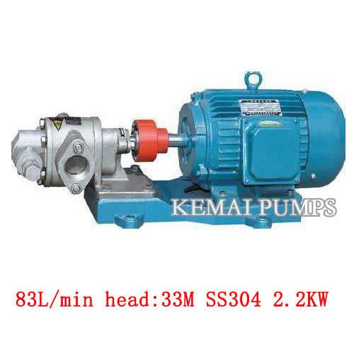 k series gear pumps gear with motor