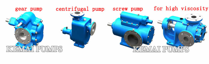 oil transfer pumps types