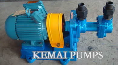 screw pumps for lube oil transfer