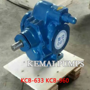 4 Inch Gear Oil pump KCB-633 KCB-960 Gear Pump