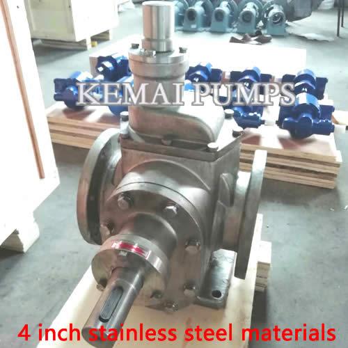 4 inch ss gear pump