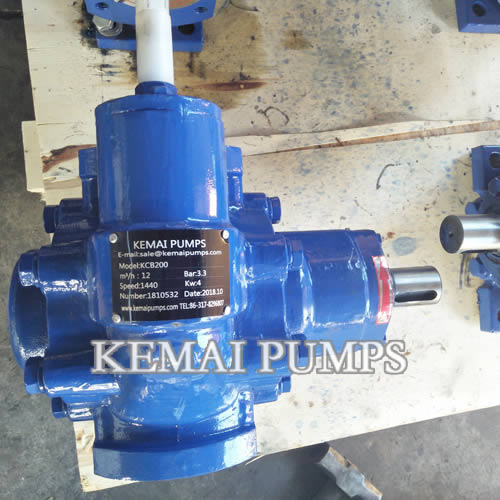 Bare shaft pump 2 inch gear oil pump