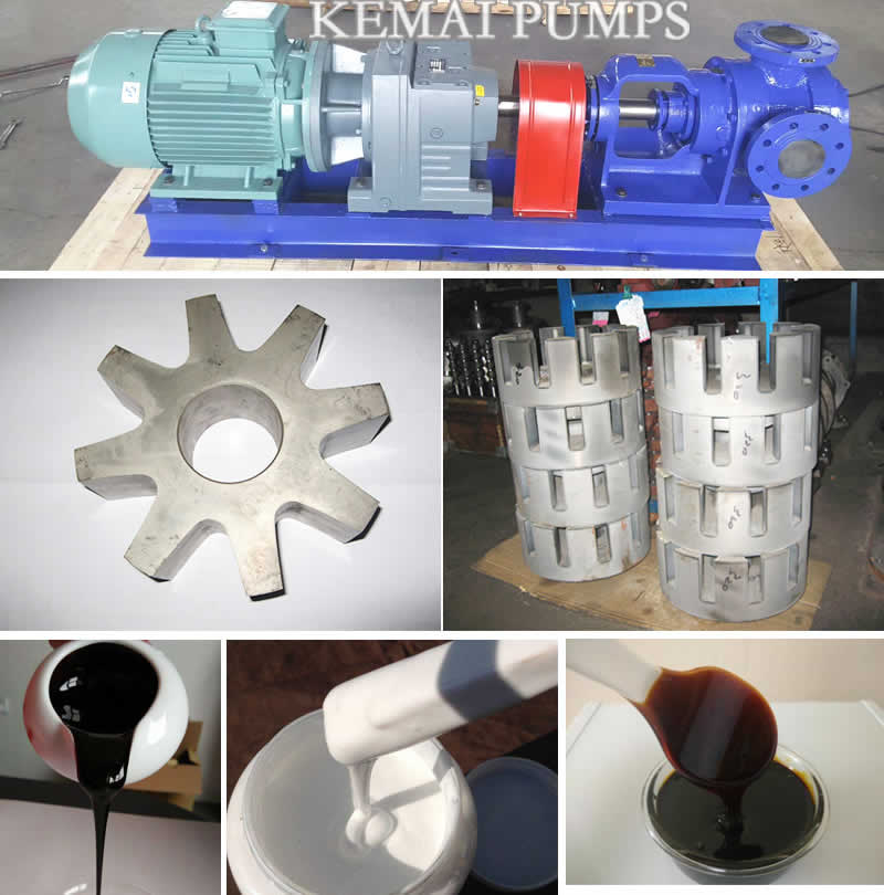 High Viscosity Pumps For Transfer Molasses Glue Asphalt Oil
