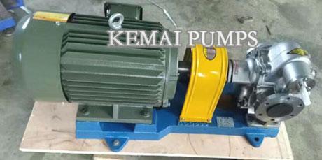 KCB 300 gear pump SS304 SS316