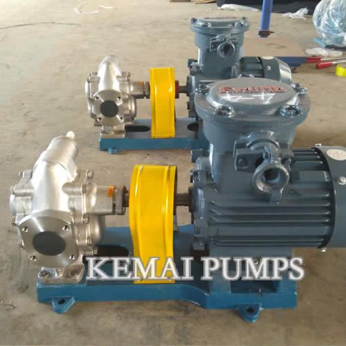 KCB gear pump kcb-200 kcb-35 made in china kemai pumps