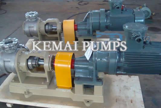 N Series Stainless Steel Gear Pump For High Viscosity