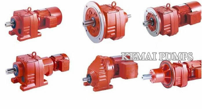 R Series Gear Motor Types