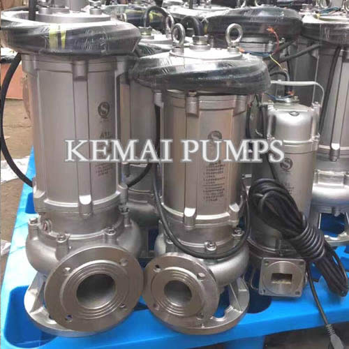 Submersible Sewage Pump SS 304 316 316L