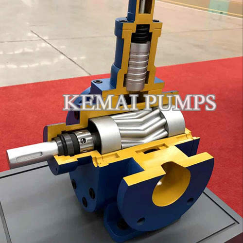 YCB Arc Gear Pump Internal Structure