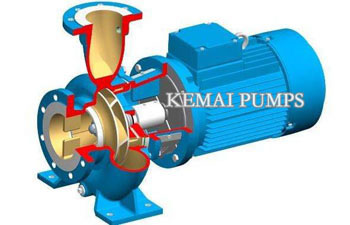 centrifugal pump structure and type